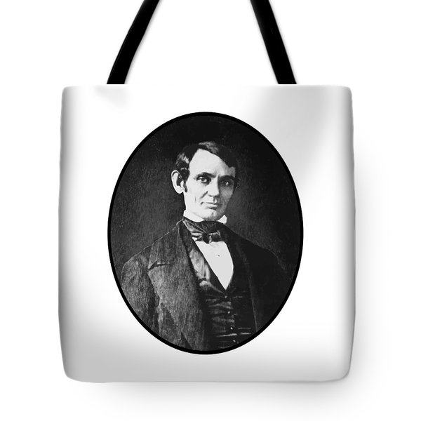 Abe Lincoln As A Young Man  Tote Bag by War Is Hell Store