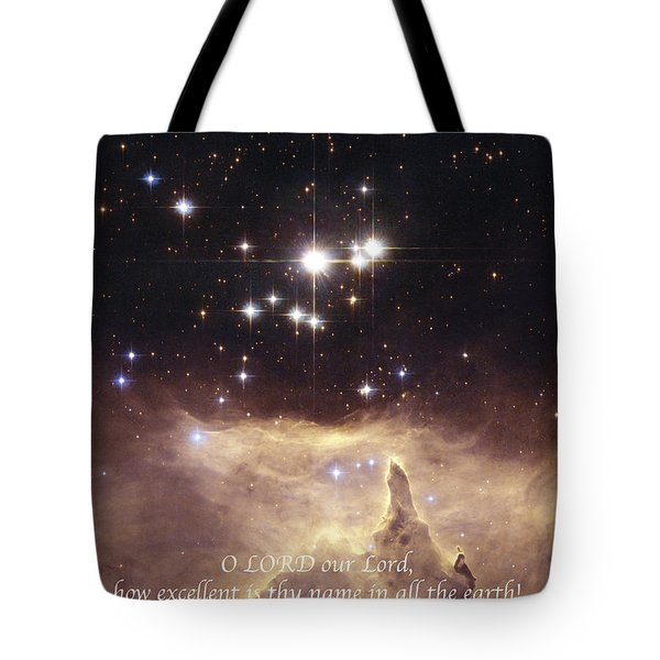 Above the Heavens Tote Bag by Michael Peychich