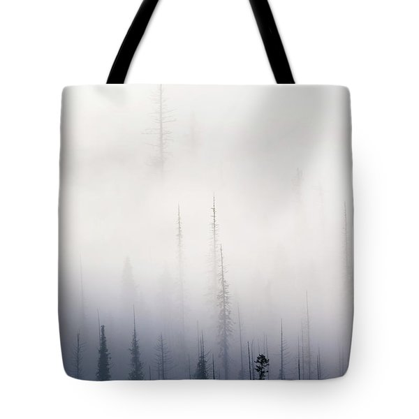 Above Them All Tote Bag by Mike  Dawson