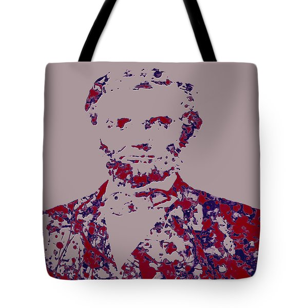 Abraham Lincoln 4c Tote Bag by Brian Reaves