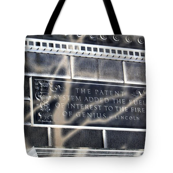 Abraham Was A Smart Man Tote Bag by Angelina Vick