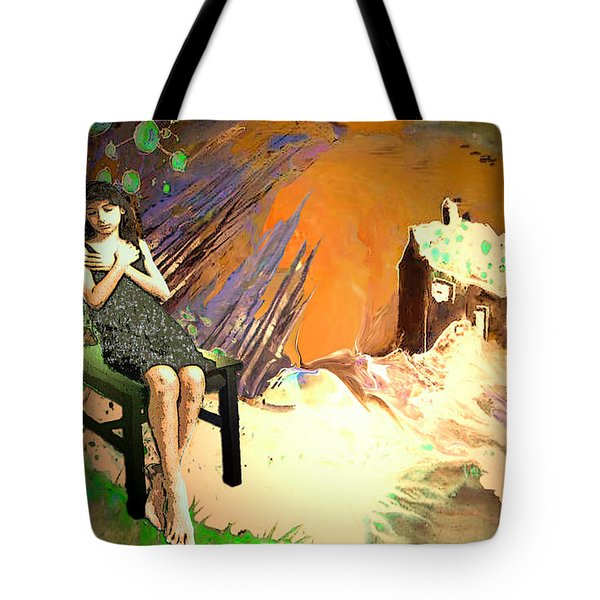 Absent Love Tote Bag by Miki De Goodaboom