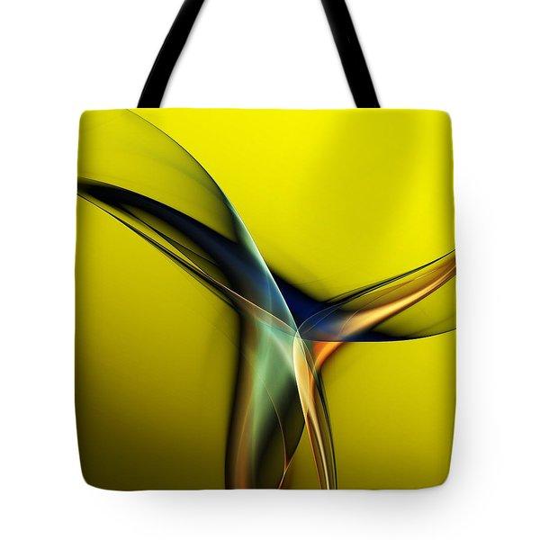 Abstract 060311 Tote Bag by David Lane