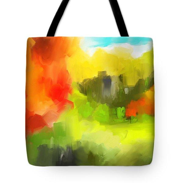 Abstract 112210 Tote Bag by David Lane