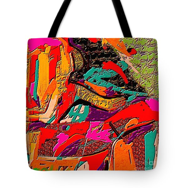 Abstract 508 Tote Bag by Nedunseralathan R