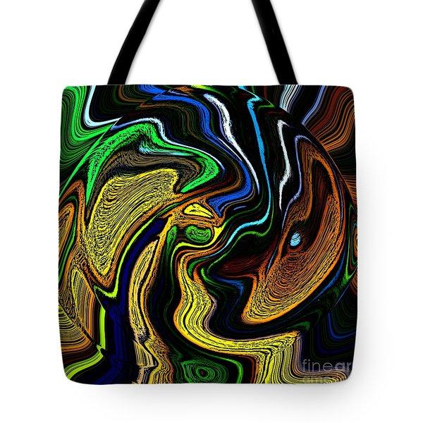 abstract 6-10-09-a Tote Bag by David Lane