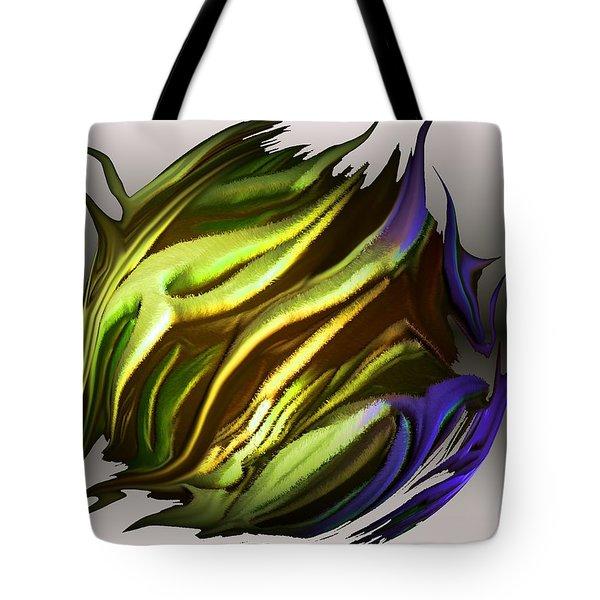 abstract 7-26-09-a Tote Bag by David Lane