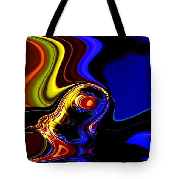 abstract 7-26-09 Tote Bag by David Lane