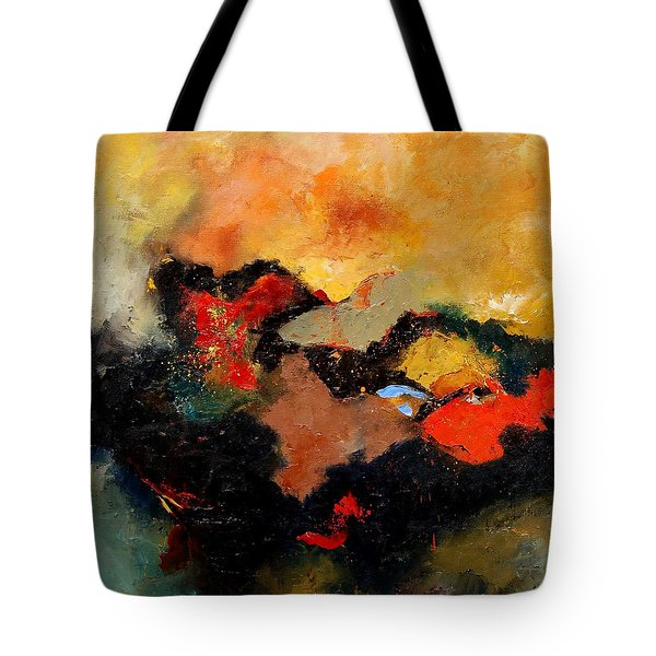 Abstract 8080 Tote Bag by Pol Ledent