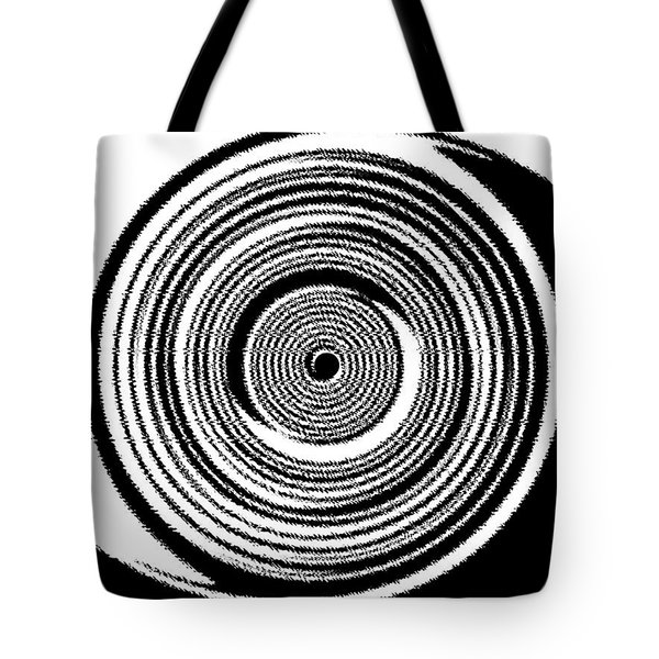 Abstract Clock Spring Tote Bag by Will Borden