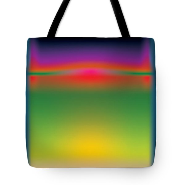 Abstract Color  Tote Bag by Gary Grayson