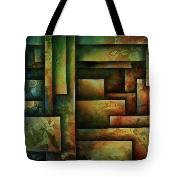 Abstract Design 102 Tote Bag by Michael Lang