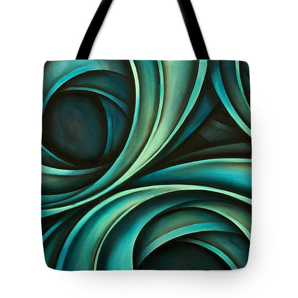 Abstract Design 33 Tote Bag by Michael Lang
