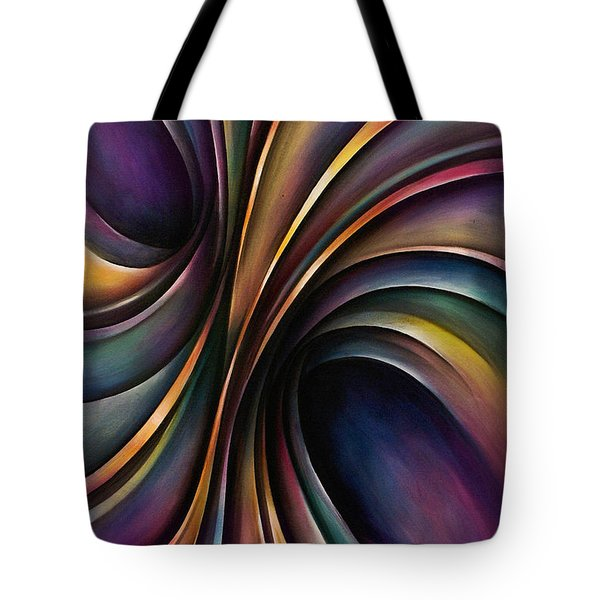 Abstract Design 55 Tote Bag by Michael Lang