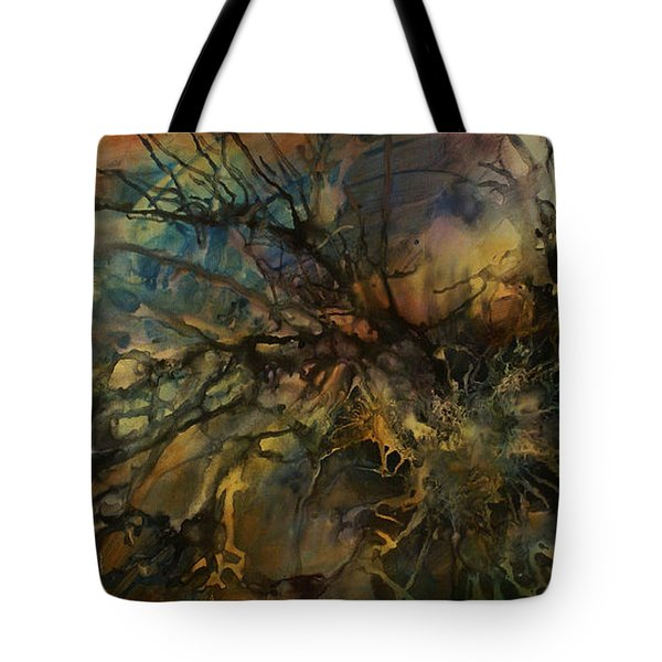 abstract design 88 Tote Bag by Michael Lang
