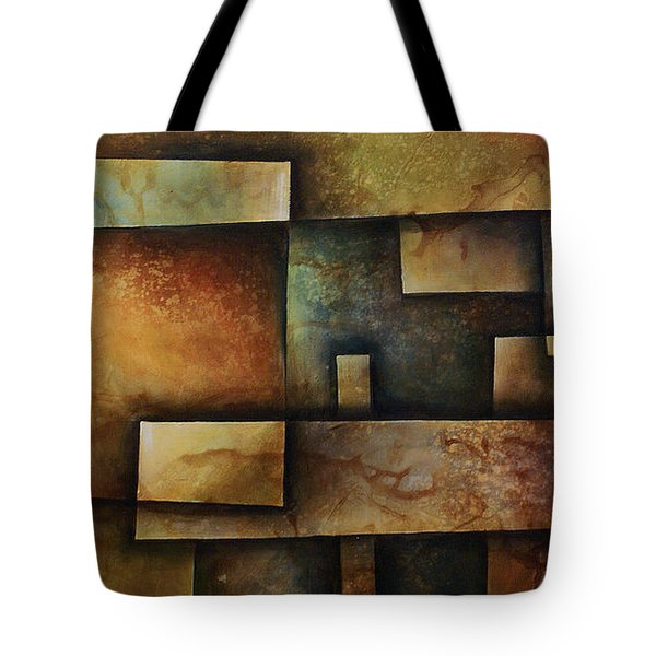 Abstract Design 9 Tote Bag by Michael Lang