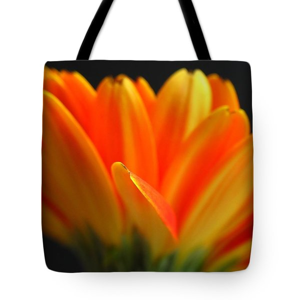 Abstract Gerbera Petals Tote Bag by Juergen Roth