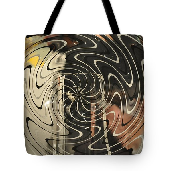 Abstract Glass 3 Tote Bag by Marty Koch