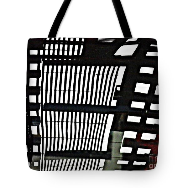 Abstract Reflection 16 Tote Bag by Sarah Loft