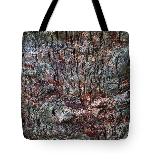 Abstract Tree Bark Tote Bag by Juergen Roth