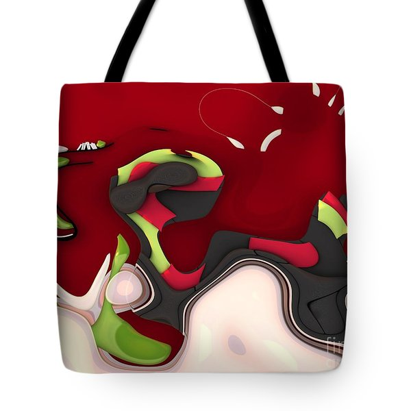 Abstrakto - 95a Tote Bag by Variance Collections
