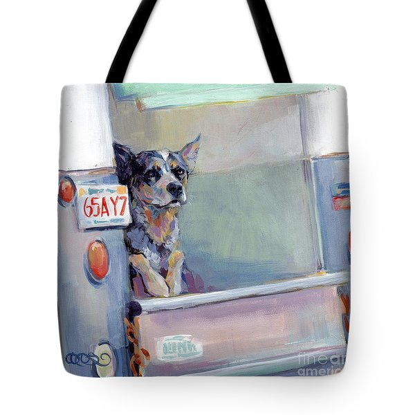 Acd Delivery Boy Tote Bag by Kimberly Santini