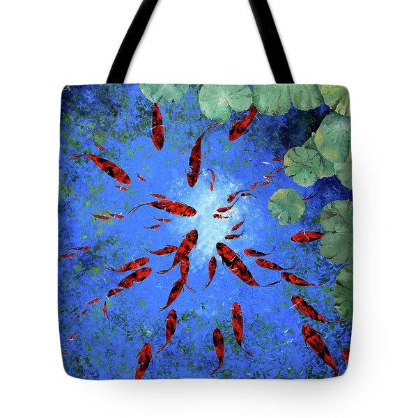 Acqua Azzurra Tote Bag by Guido Borelli
