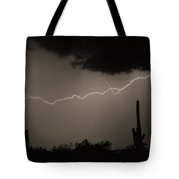 Across the Desert - Sepia print Tote Bag by James BO  Insogna
