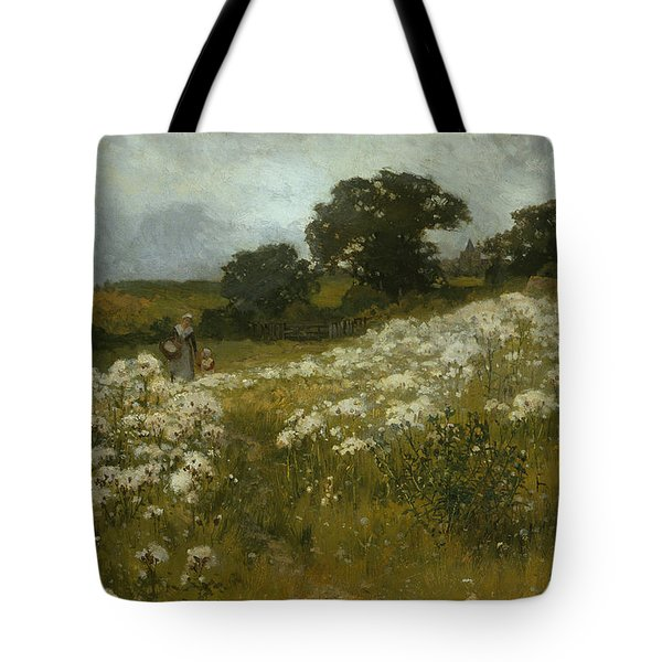 Across The Fields Tote Bag by John Mallord Bromley