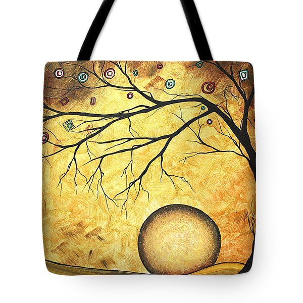 Across the Golden River by MADART Tote Bag by Megan Duncanson