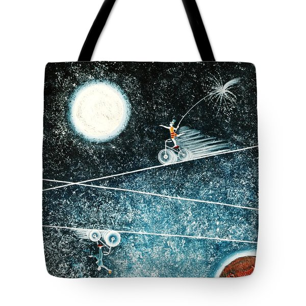 Across The Universe Tote Bag by Graciela Bello