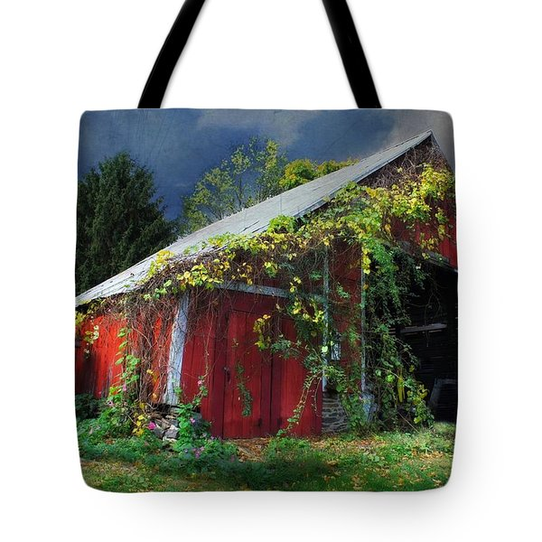 Adams County Winery Tote Bag by Lori Deiter