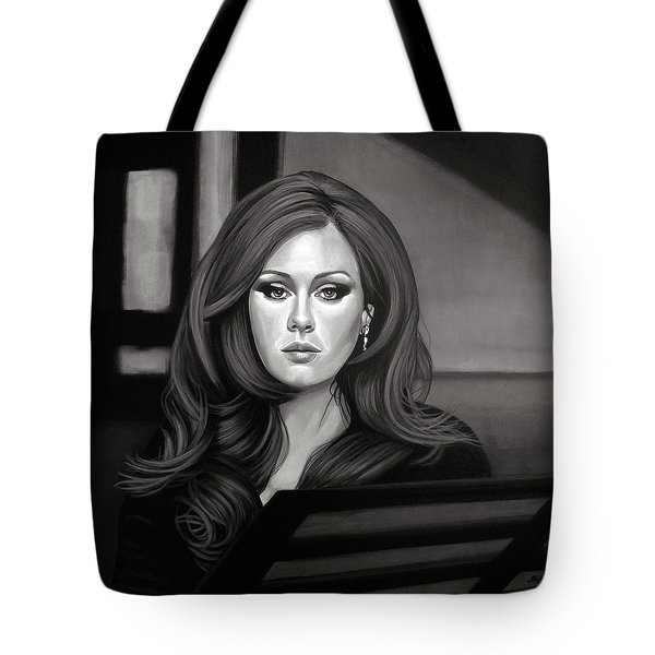 Adele Mixed Media Tote Bag by Paul Meijering