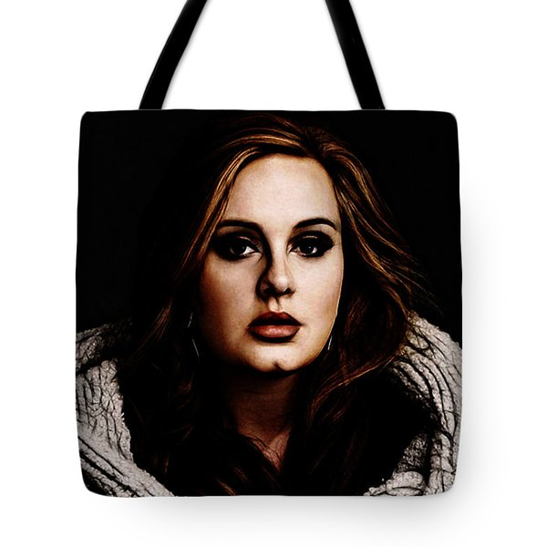 Adele Tote Bag by The DigArtisT