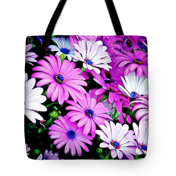 African Daisies - Arctotis stoechadifolia Tote Bag by Christine Till