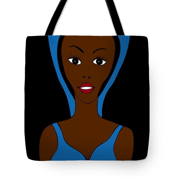 African Fashion Tote Bag by Frank Tschakert