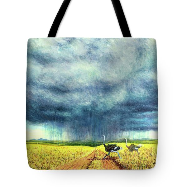 African Storm Tote Bag by Tilly Willis