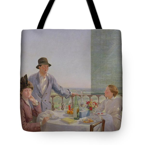 After Lunch Tote Bag by Gerard Chowne