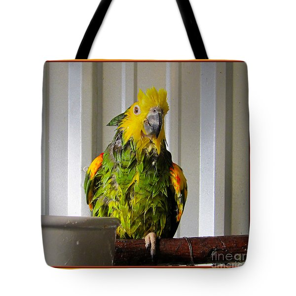 After The Bath Tote Bag by Victoria Harrington