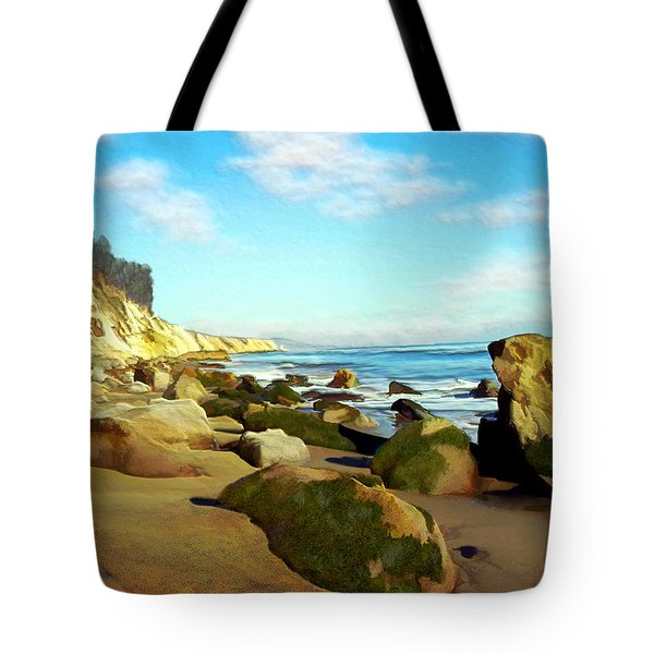 After The Fog Gaviota Tote Bag by Kurt Van Wagner