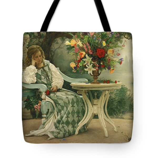 After The Masquerade Tote Bag by Greg Olsen