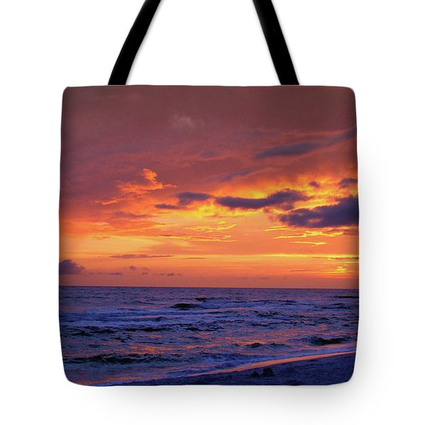 After The Sunset Tote Bag by Sandy Keeton