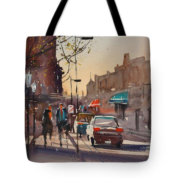 Afternoon Light Tote Bag by Ryan Radke
