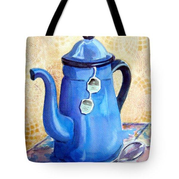 Afternoon Tea Tote Bag by Marsha Elliott