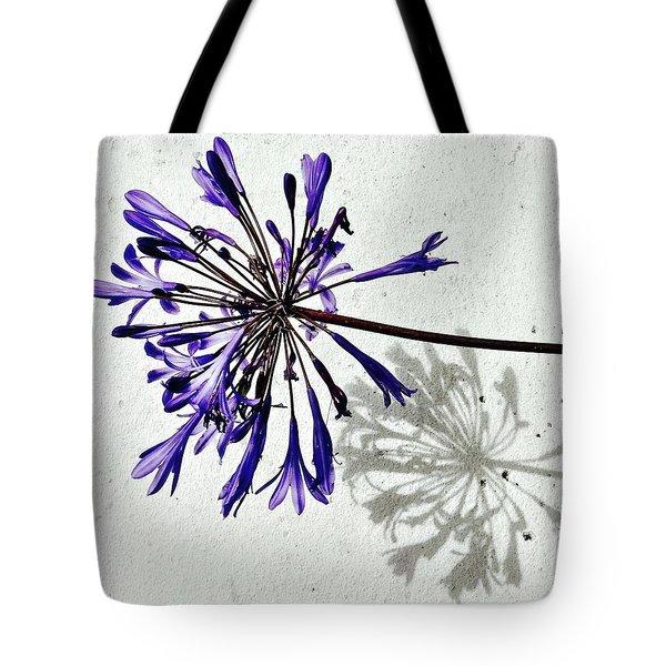Agapanthus Tote Bag by Julie Gebhardt