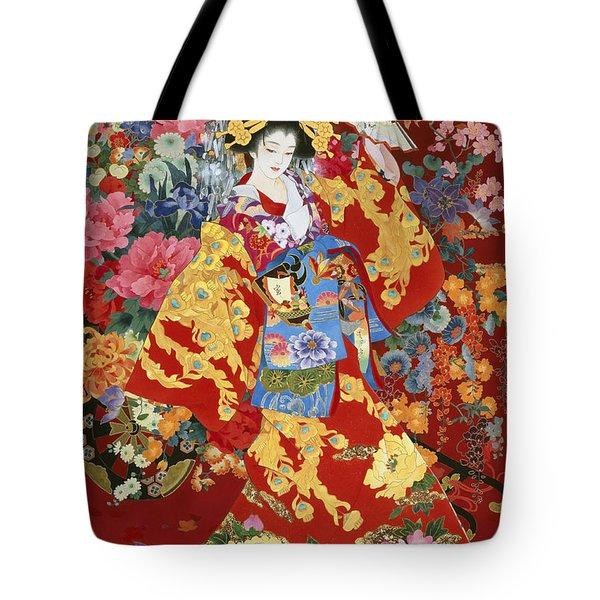 Agemaki Tote Bag by Haruyo Morita