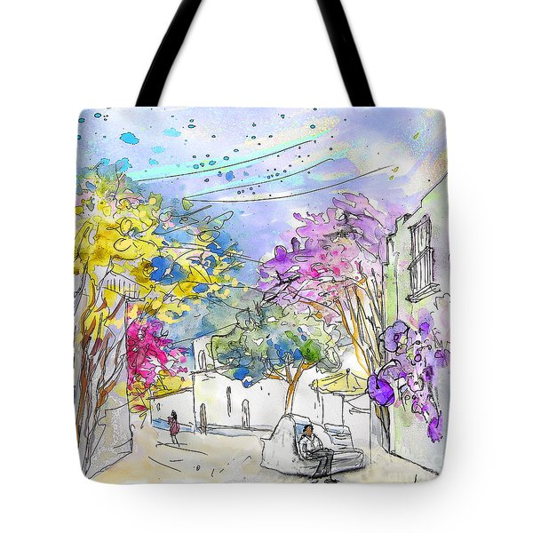 Agua Amarga 12 Tote Bag by Miki De Goodaboom