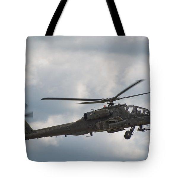 Ah-64 Apache Tote Bag by Sebastian Musial