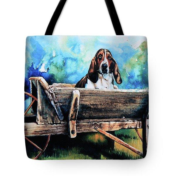 Ah Pooey Tote Bag by Hanne Lore Koehler