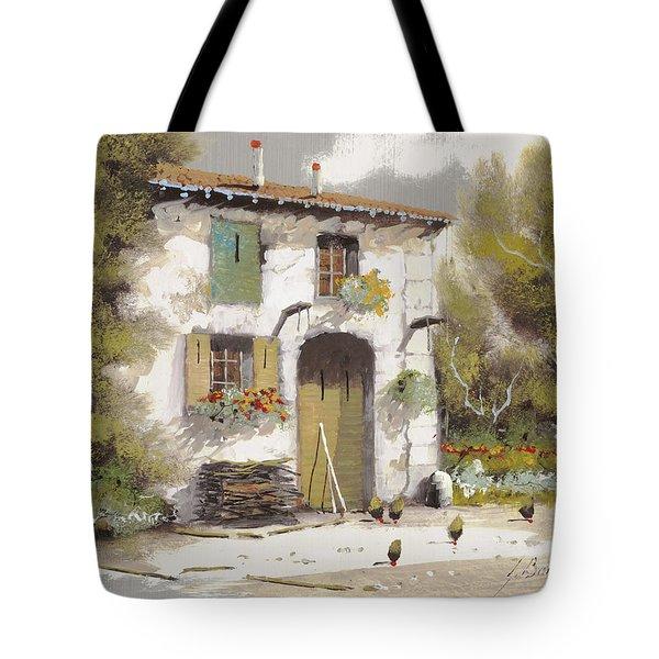 AIA Tote Bag by Guido Borelli